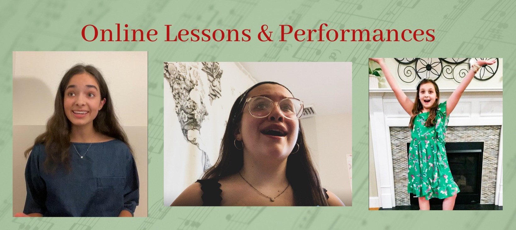 Online voice lessons and coaching