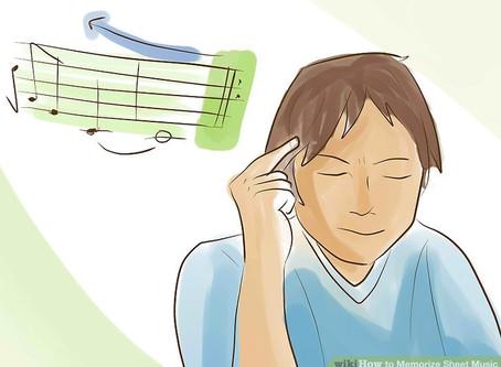 Three Steps for Memorizing Music