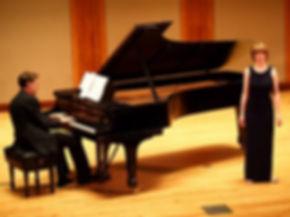 Ellen Allen in concert, recital, and stage productions