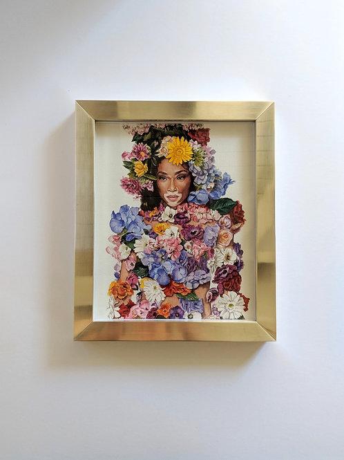 Winnie in Moschino print