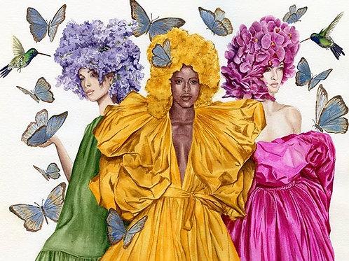 Valentino Couture Print