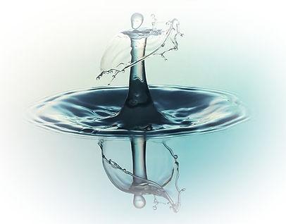 Wassertropfen - in der Ruhe liegt die Kraft