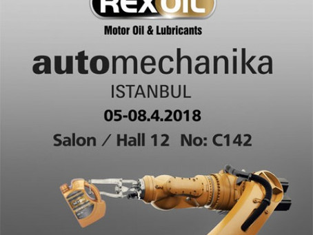 We are at Automechanika - ISTANBUL on 5-8 April.