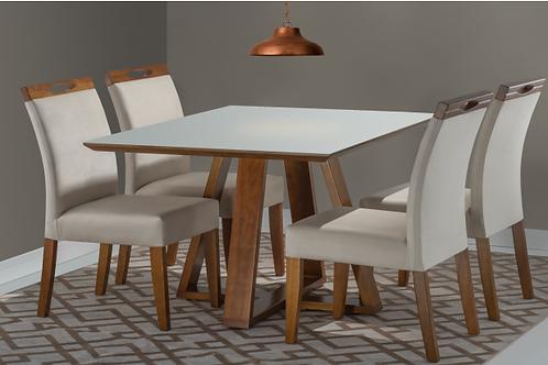 Sala de Jantar 120x90 com 4 cadeiras