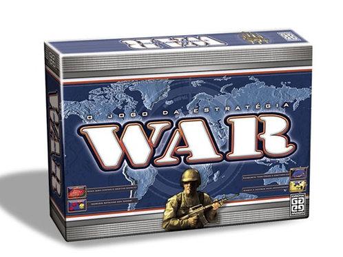 Jogo de Tabuleiro War - O Jogo de Estratégia
