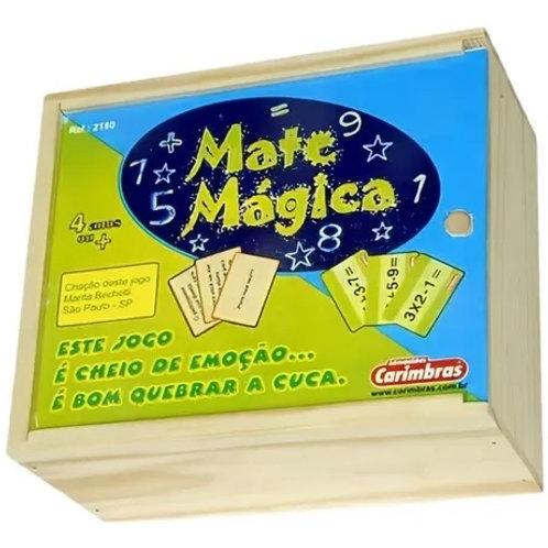 Jogo Pedagógico Para Matemática Mate Magica Carimbras