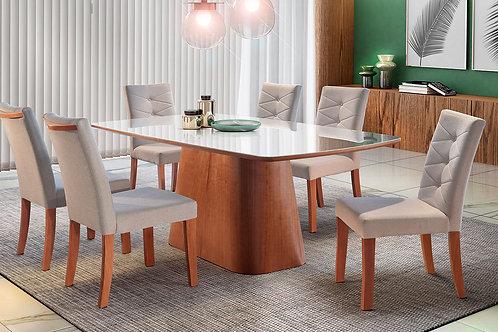 Sala de Jantar 180x100 com 4 cadeiras
