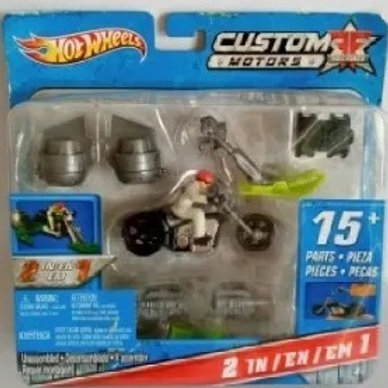 Custom Motors Full Force Hot Wheels 2 Em 1