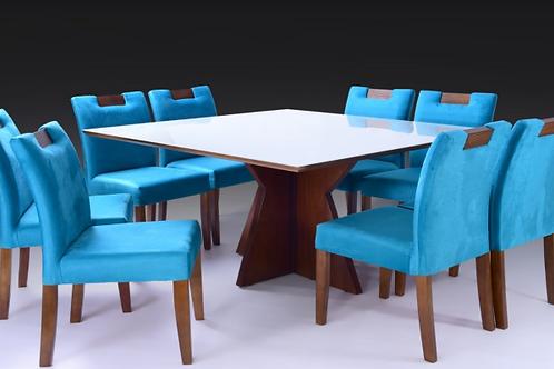 Sala de Jantar 150x150 com 6 cadeiras