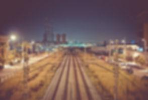 Railway at Night