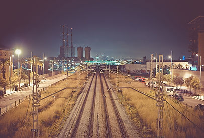 Railway at Night