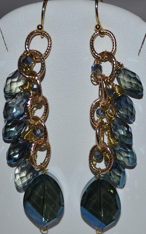 Elly Preston Roxanne Chandelier Earrings