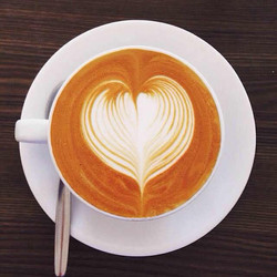 A perfect latte
