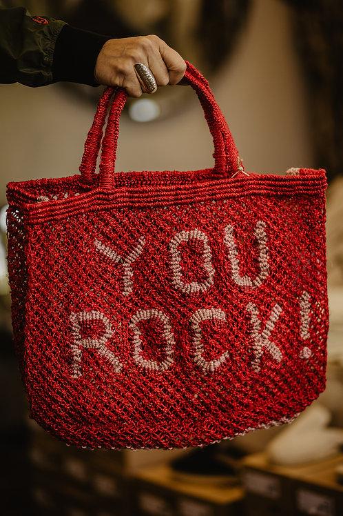 Jacksons Jute Bag You Rock Rot