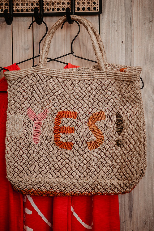 Jacksons Jute Bag Yes