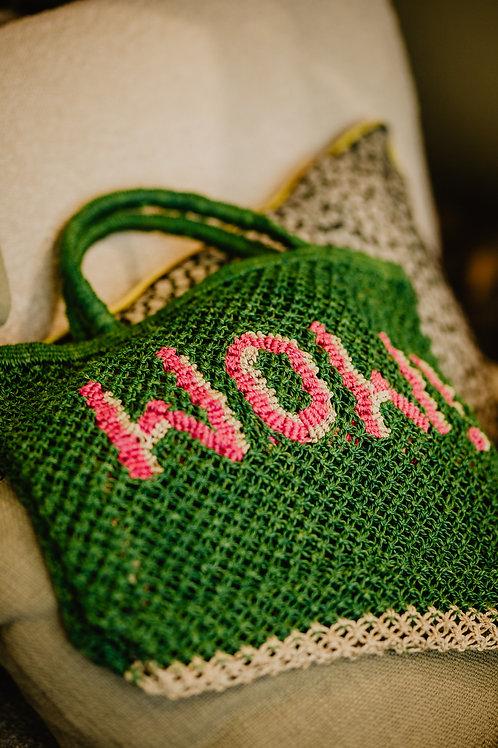 Jacksons Jute Bag Wow Grün