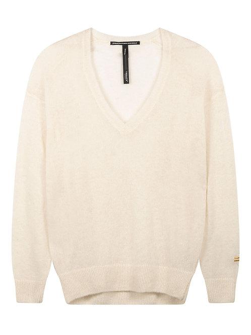 Sweater V-Neck Alpaca