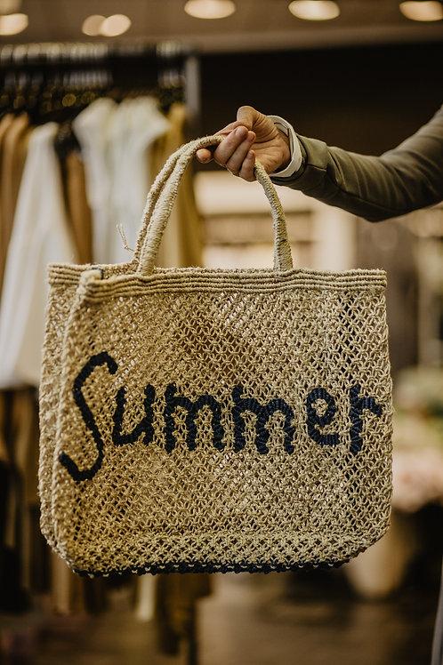 Jacksons Jute Bag Summer Blau
