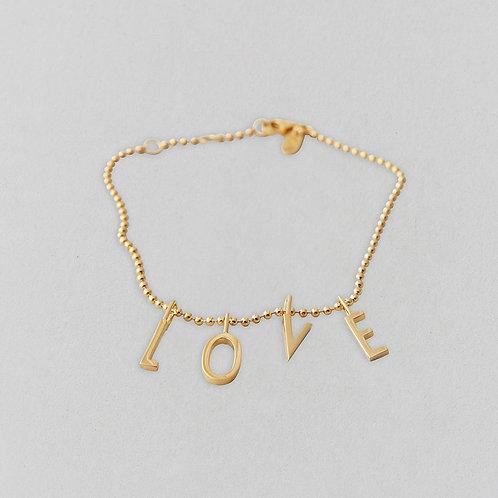 Love Armband (Gold)