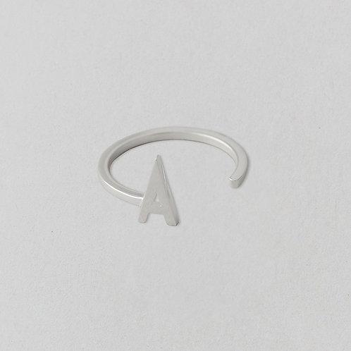 Ring A–Z (Silber)