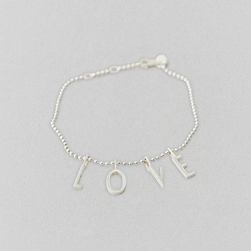 Love Armband (Silber)