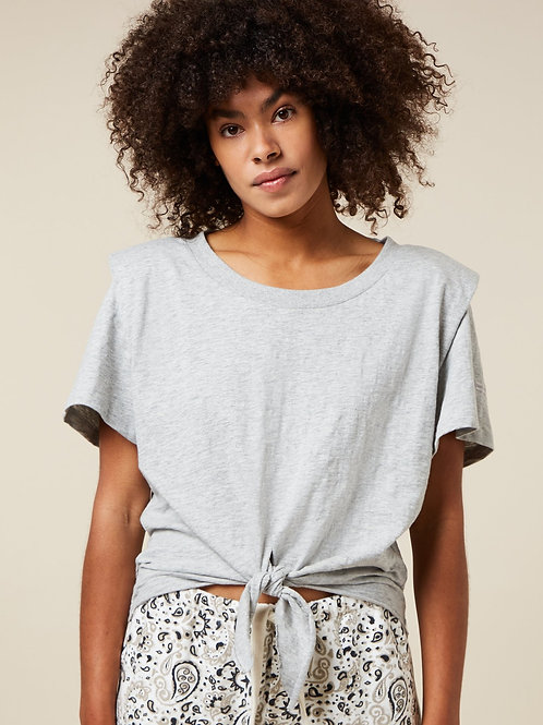 Padded Knotted Tee