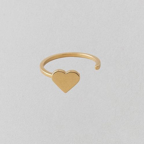 Herzring (Gold)