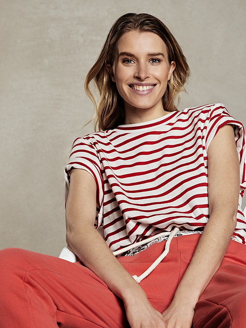 Knotted Tee Stripe