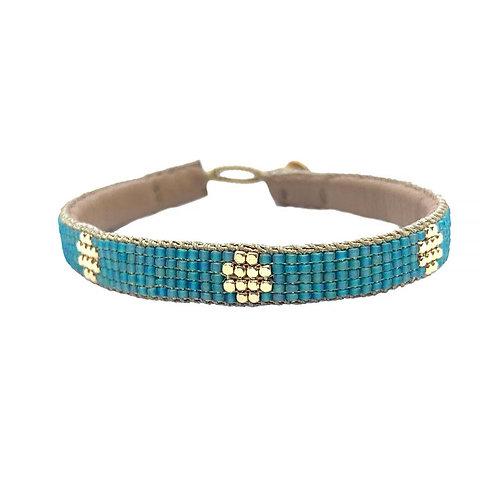 Fine Bracelet The Circle Aqua