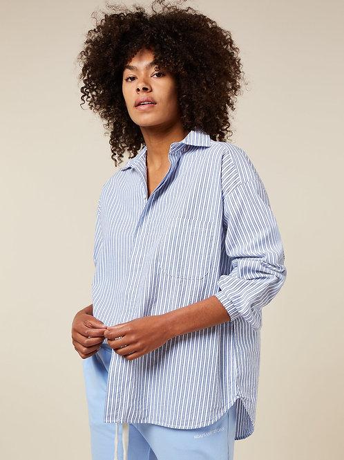 Oversized Shirt Stripe