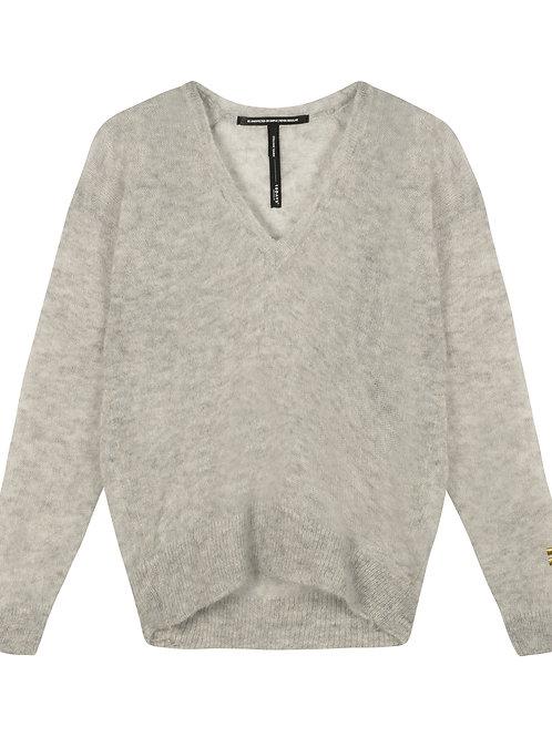 Thin Sweater V-Neck