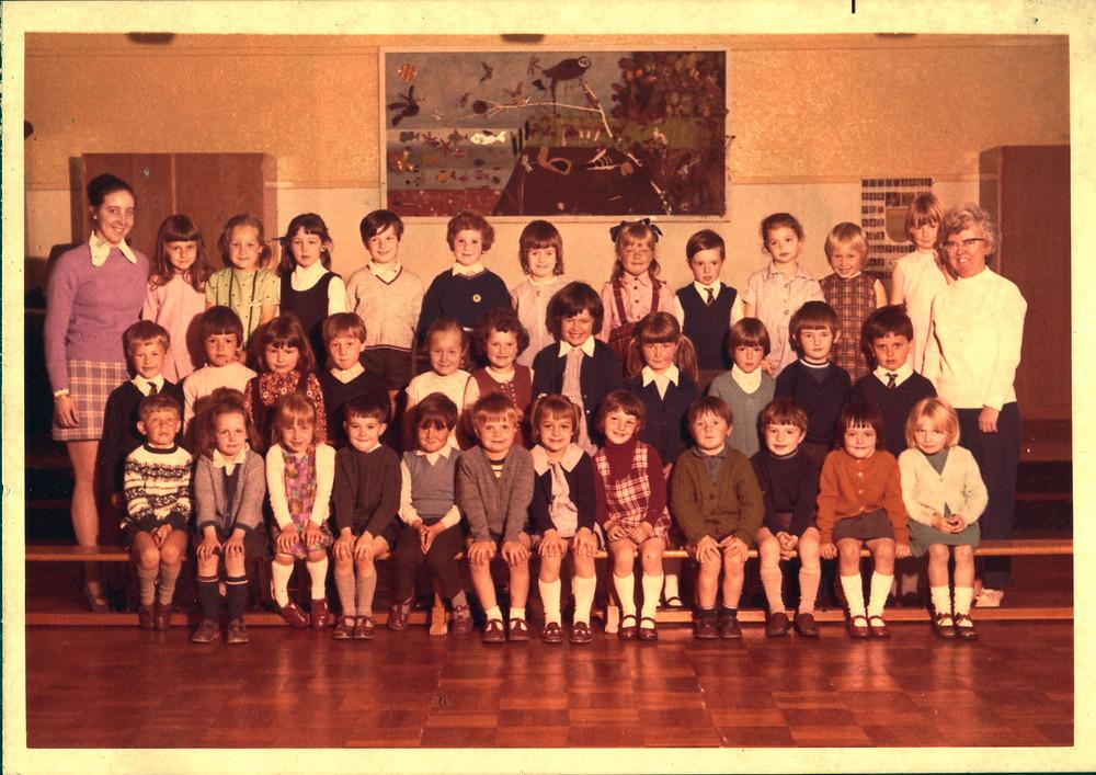Kinson Primary School Reception circa 1972