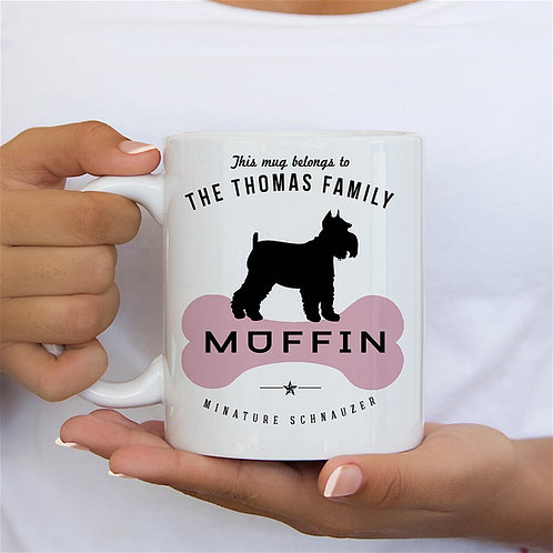 Mini Schnauzer Dog Breed Mug