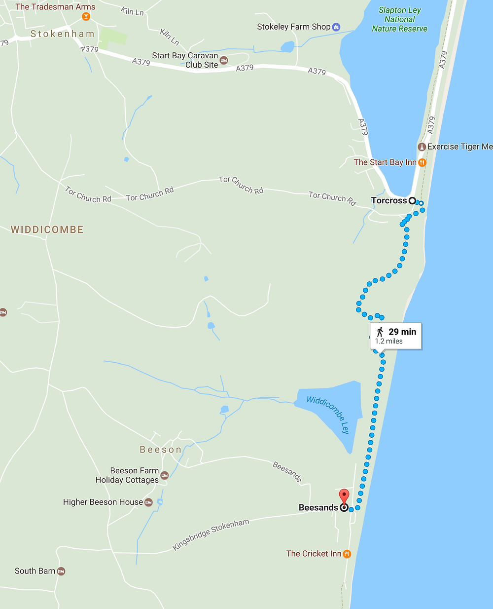 Torcross to Beesands