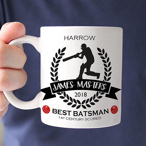 Cricket Champion Mug