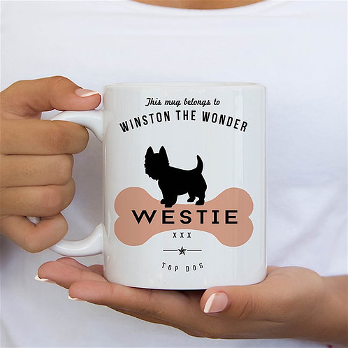 West Highland Terrier Dog Breed Mug