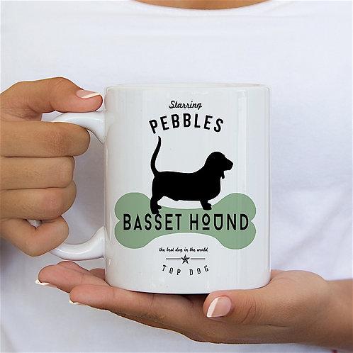 Basset Hound Dog Breed Mug