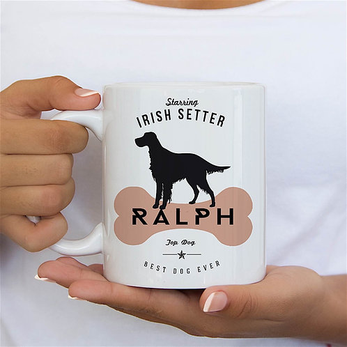 Irish Setter Dog Breed Mug