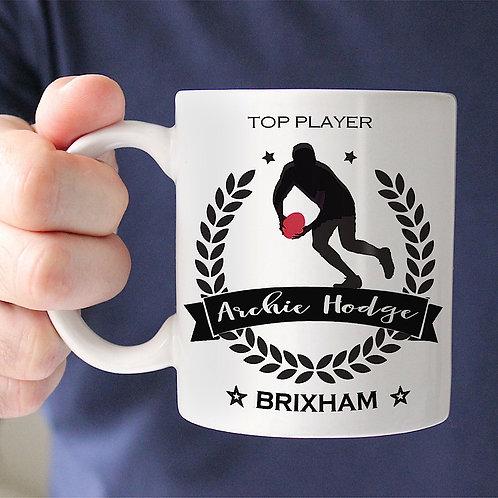 Rugby Champion Mug