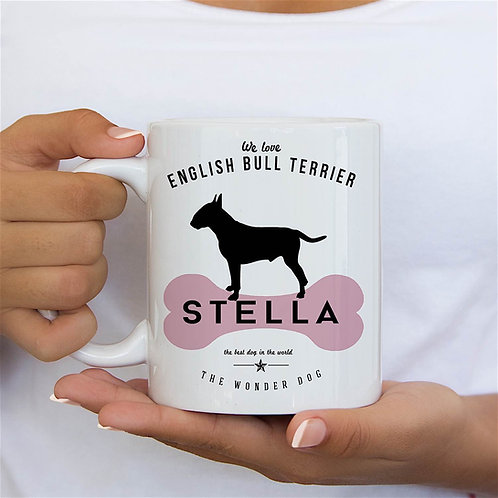 English Bull Terrier Dog Breed Mug