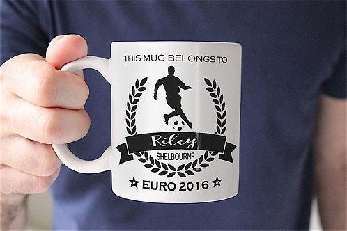 Football Champion Mug