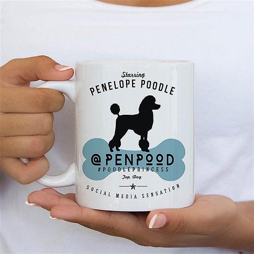 Poodle Dog Breed Mug