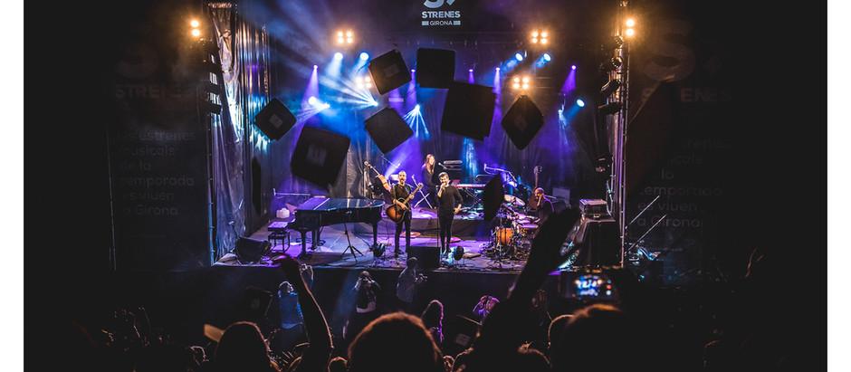 """Concert de Joan Dausà a Strenes de Girona amb """"Ara som Gegants"""""""