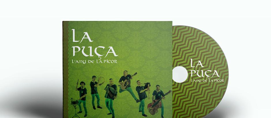 """Fotografia, disseny, art del disc i maquetació """"Lany de la Picor"""" de La Puça"""