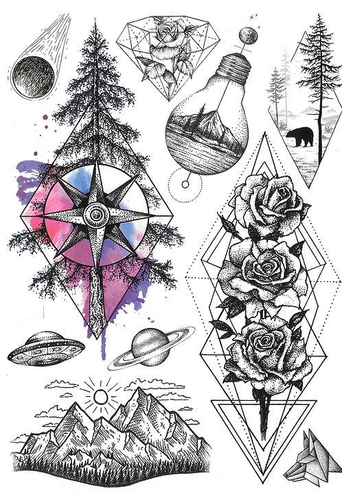 Natural Geometrik
