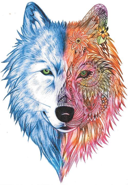 Wolf Bi-Color
