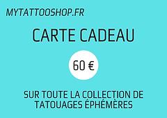 Carte Cadeau - 60 €