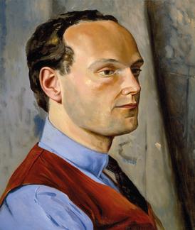 Büste des Dichters, 1981, Öl auf Leinwand