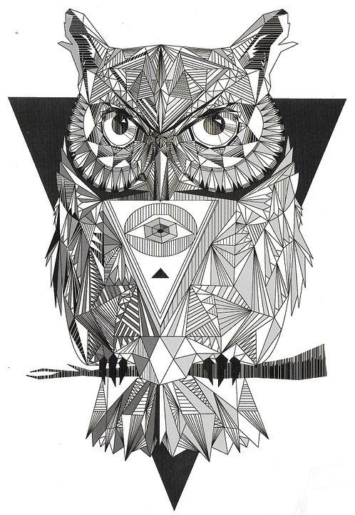 Géometrik Hibou