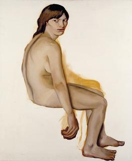 Aktstudie, 1976, Öl auf Leinwand